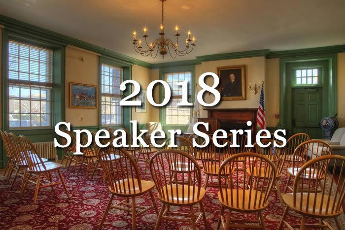 2018 Speaker Series