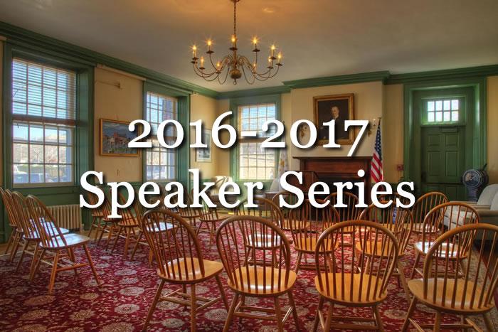 2016-2017 Speaker Series