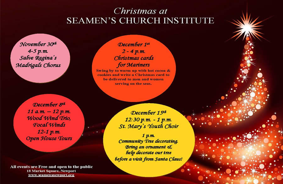 Christmas at Seamen's Church Institute
