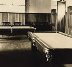 Former Recreation Room/ Billiard Tables