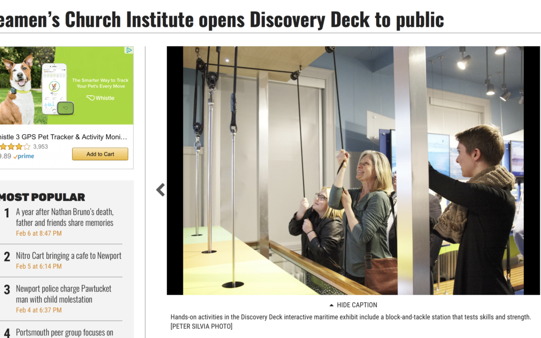 Discovery Deck Opens to Public!