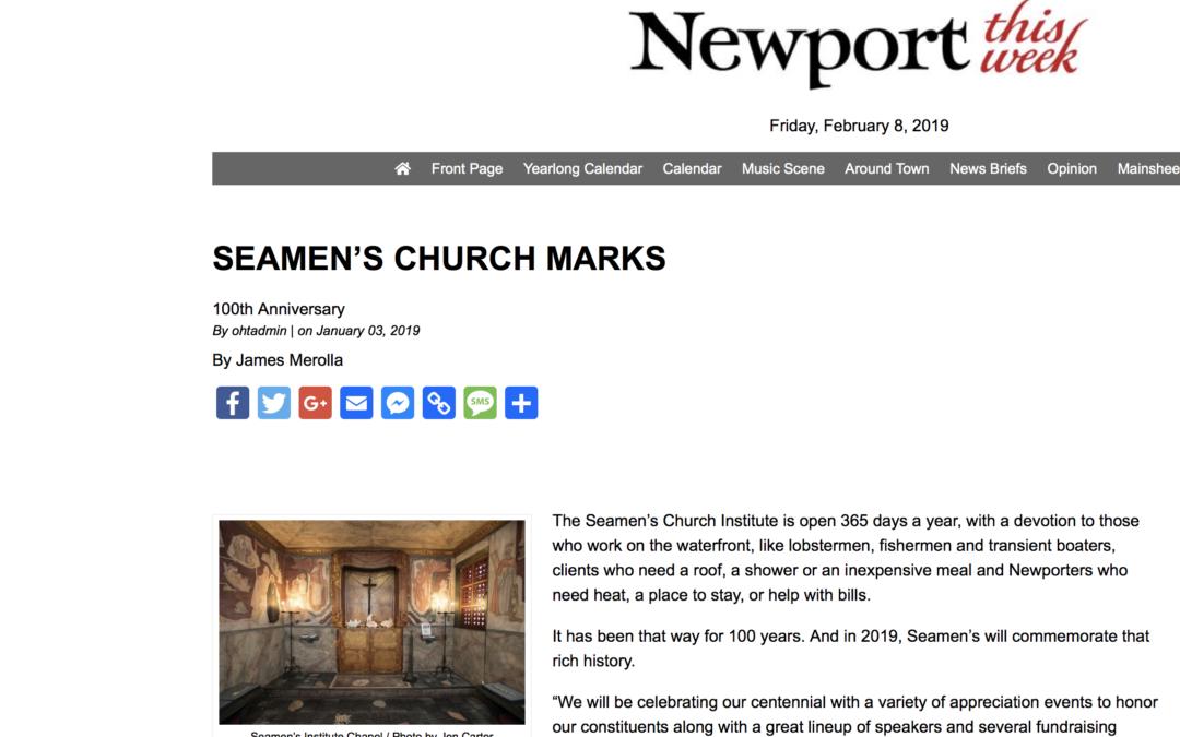 Seamen's Marks 100th Anniversary