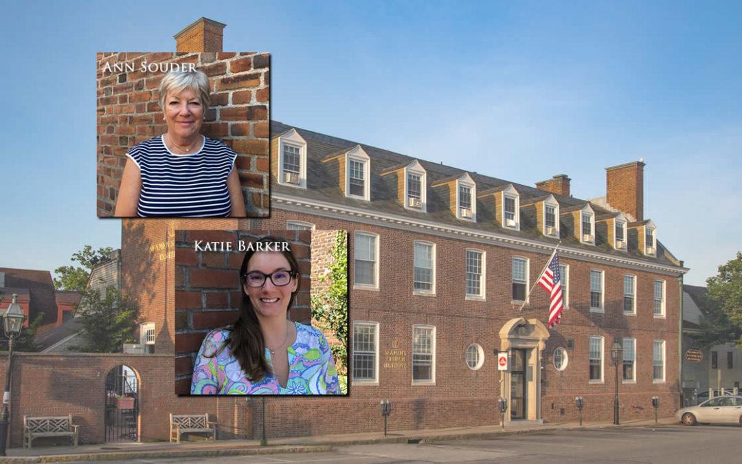 Ann Souder and Katie Barker Join Seamen's Church Institute of Newport